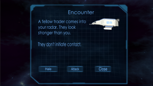 Encounter screen